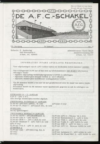 Schakels (clubbladen) 1976-01-14