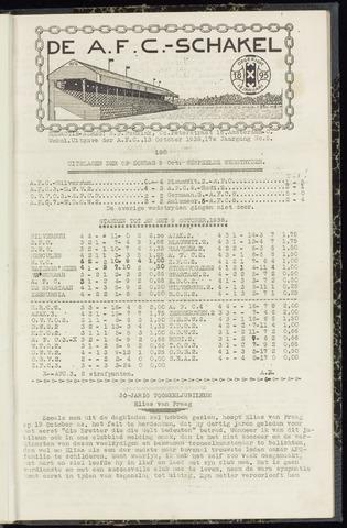 Schakels (clubbladen) 1938-10-13