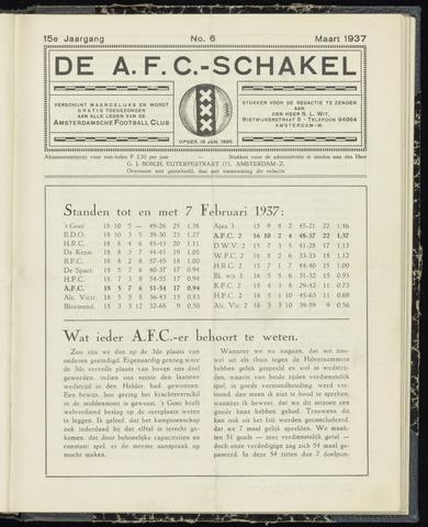 Schakels (clubbladen) 1937-03-01