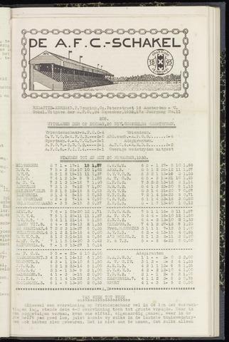 Schakels (clubbladen) 1938-11-24