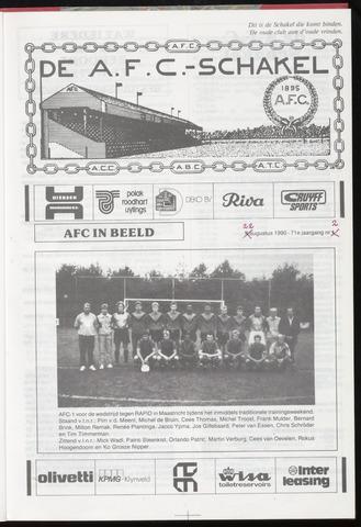 Schakels (clubbladen) 1990-08-22
