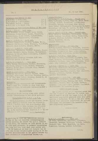 Bulletins (vnl. opstellingen) 1946-05-16
