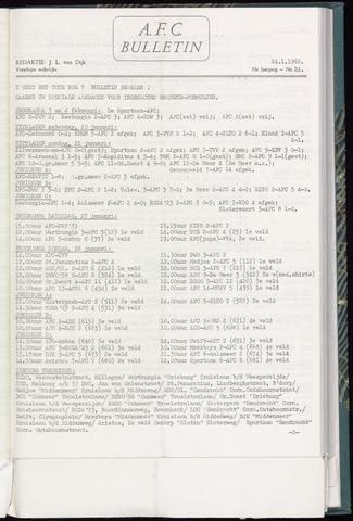 Bulletins (vnl. opstellingen) 1968-01-24