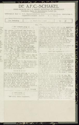 Schakels (clubbladen) 1943-09-02
