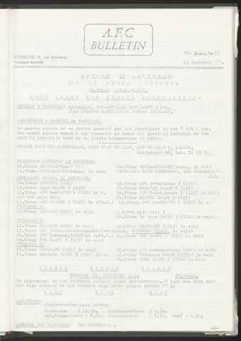 Bulletins (vnl. opstellingen) 1973-12-12