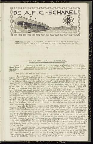 Schakels (clubbladen) 1941-03-13