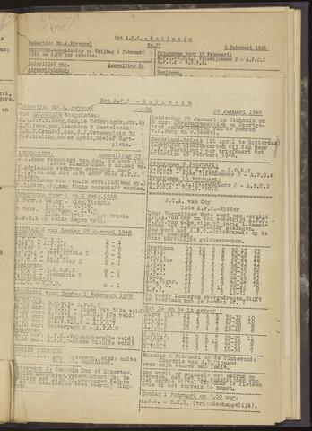 Bulletins (vnl. opstellingen) 1948-01-29
