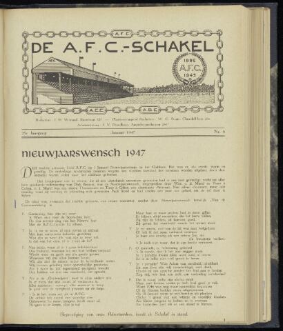 Schakels (clubbladen) 1947