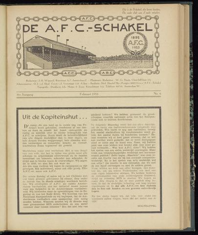 Schakels (clubbladen) 1953-02-01