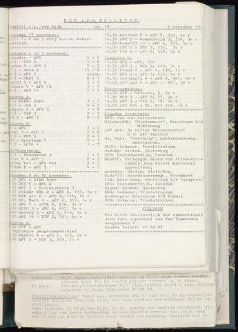 Bulletins (vnl. opstellingen) 1963-10-30