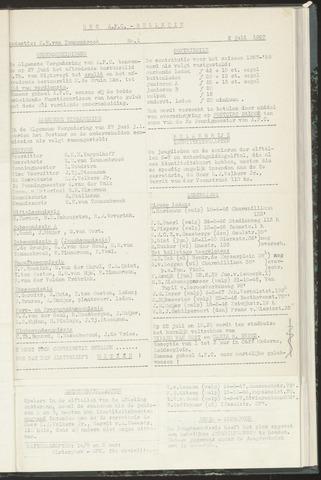 Bulletins (vnl. opstellingen) 1957-07-02