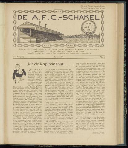 Schakels (clubbladen) 1954