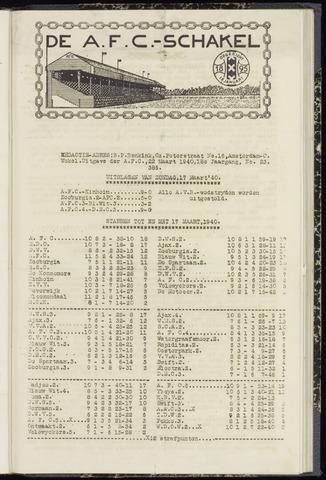 Schakels (clubbladen) 1940-03-22