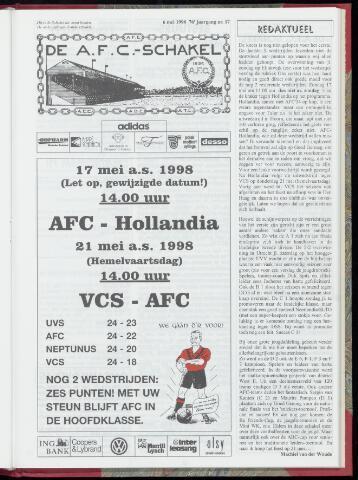 Schakels (clubbladen) 1998-05-06