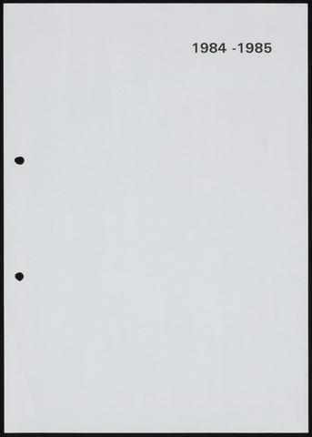 Jaarverslagen 1985-06-01