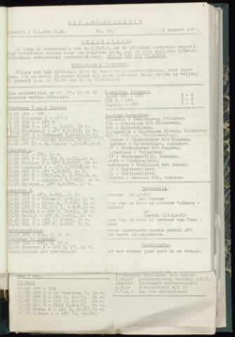 Bulletins (vnl. opstellingen) 1963
