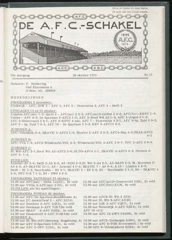 Schakels (clubbladen) 1975-10-14