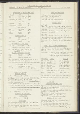 Bulletins (vnl. opstellingen) 1952-05-20