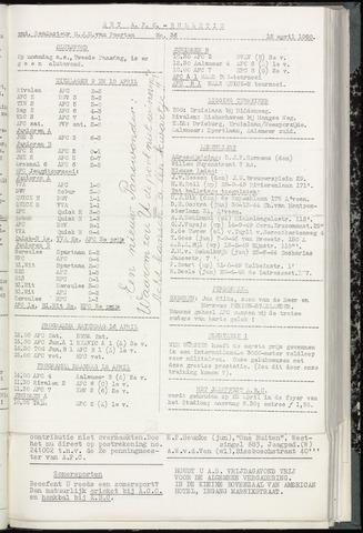Bulletins (vnl. opstellingen) 1960-04-12