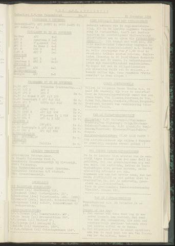 Bulletins (vnl. opstellingen) 1954-11-23