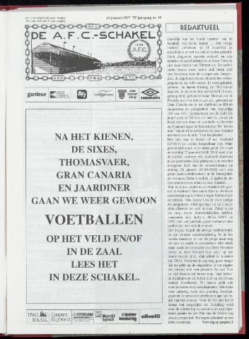Schakels (clubbladen) 1997