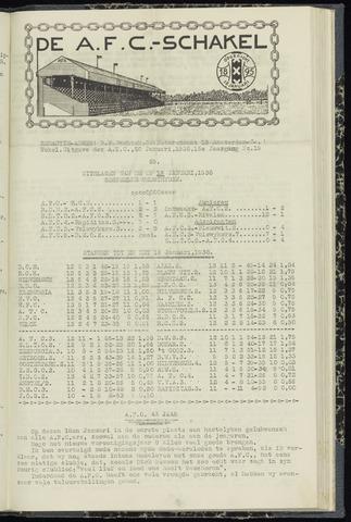 Schakels (clubbladen) 1938-01-20