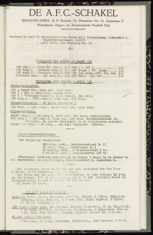 Schakels (clubbladen) 1943-04-01