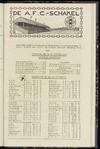 Schakels (clubbladen) 1940-10-24