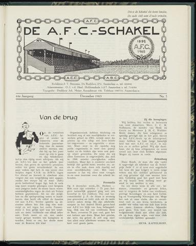 Schakels (clubbladen) 1965-12-01