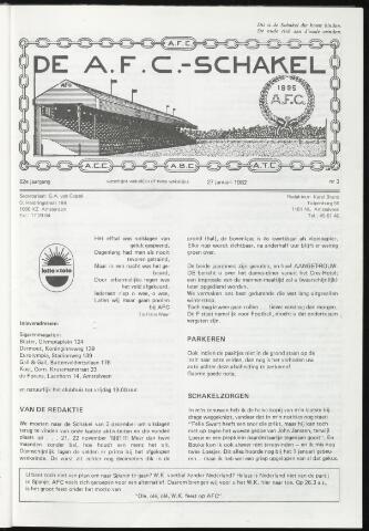Schakels (clubbladen) 1982-01-27