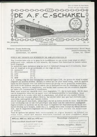 Schakels (clubbladen) 1976-03-10