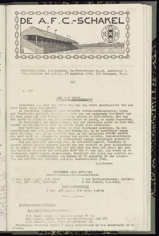 Schakels (clubbladen) 1942-08-27