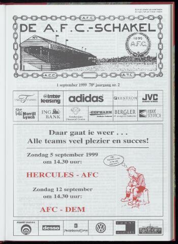 Schakels (clubbladen) 1999-09-01