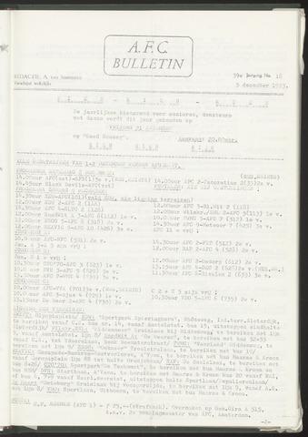 Bulletins (vnl. opstellingen) 1973-12-05