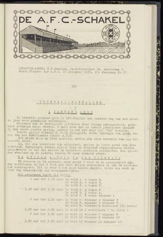 Schakels (clubbladen) 1939-12-27