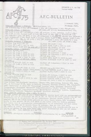 Bulletins (vnl. opstellingen) 1969-02-05