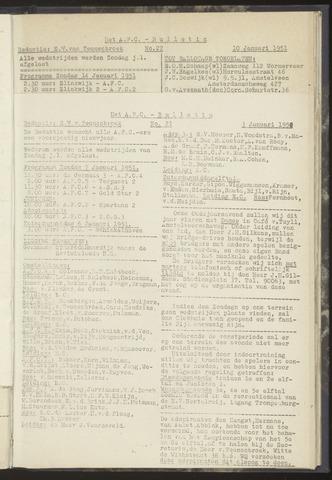 Bulletins (vnl. opstellingen) 1951