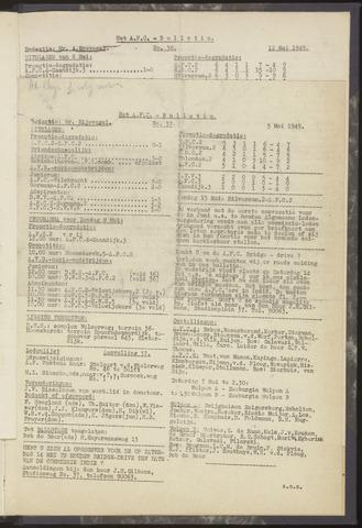 Bulletins (vnl. opstellingen) 1949-04-28