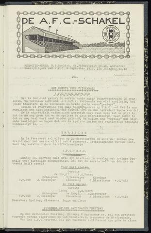 Schakels (clubbladen) 1938-09-03