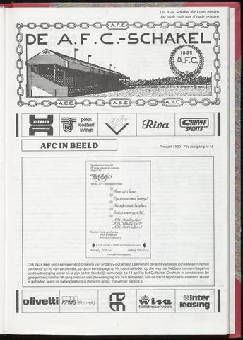Schakels (clubbladen) 1990-03-07