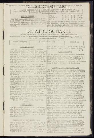 Schakels (clubbladen) 1943-11-25
