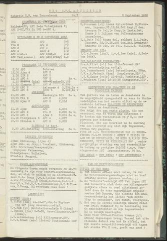 Bulletins (vnl. opstellingen) 1953-09-08