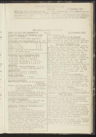 Bulletins (vnl. opstellingen) 1950-11-29
