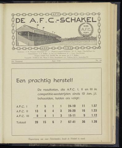 Schakels (clubbladen) 1948-06-01