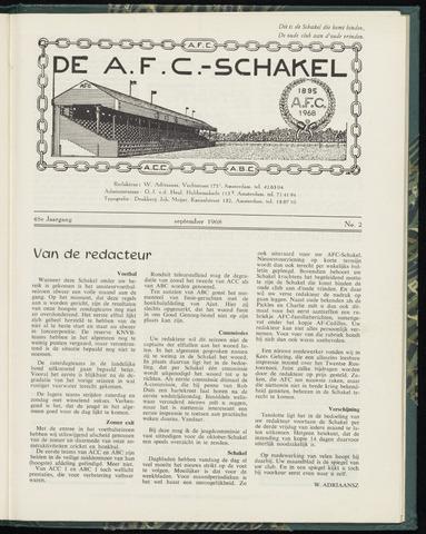 Schakels (clubbladen) 1968-09-01