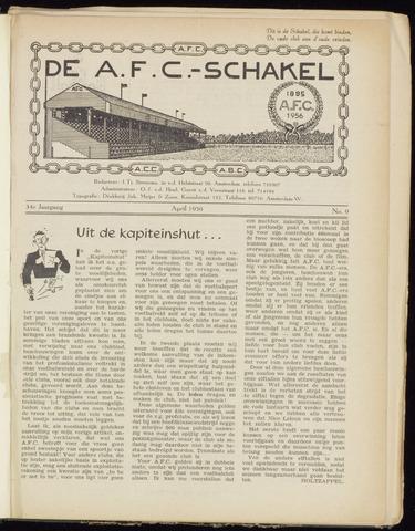 Schakels (clubbladen) 1956-04-01
