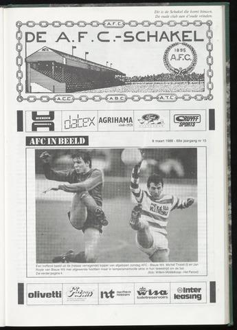 Schakels (clubbladen) 1988-03-09