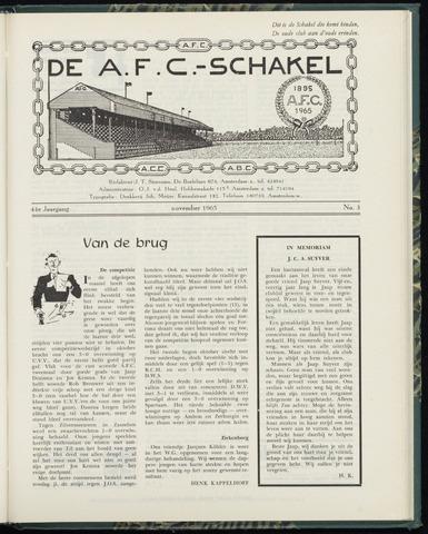 Schakels (clubbladen) 1965-11-01