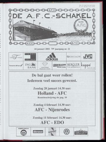 Schakels (clubbladen) 2001