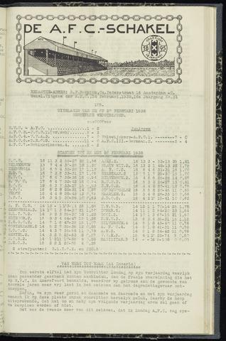 Schakels (clubbladen) 1938-02-24